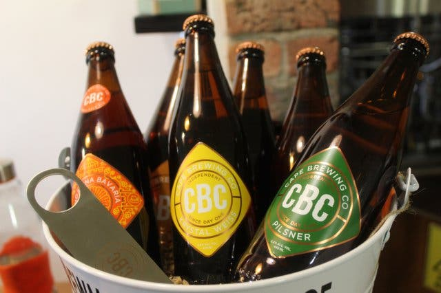 cape brewing company beer