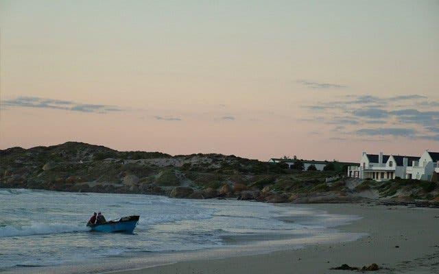 Sonnenuntergang Westküste Südafrika