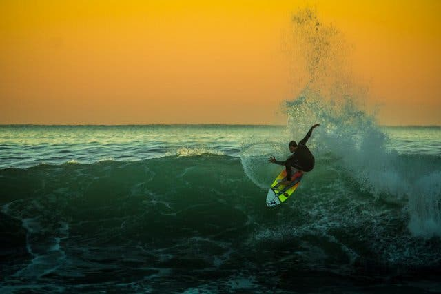 Surfen in Jeffreys Bay, Garden Route