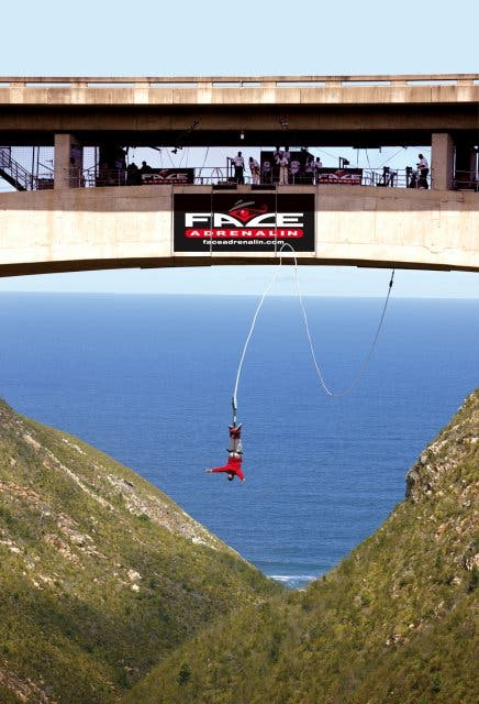 Face Adrenalin Bloukrans Bridge