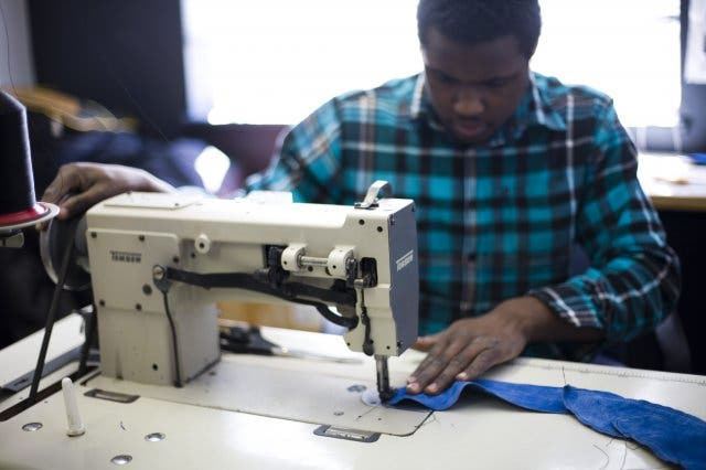 Design in Kapstadt African handmade Shoes