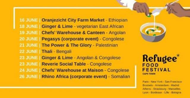Refugees Food Festival