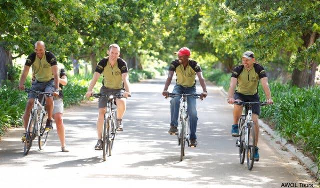 Fahrradtour Kapstadt
