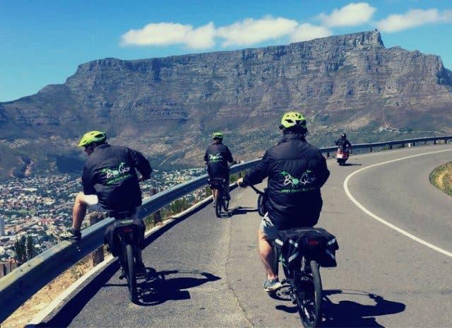 Elektro Bikes und Fahrräder am Kap