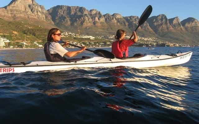 Kayak Fahren Kapstadt