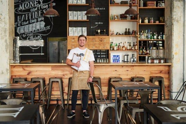 Mustacchio Cafe Kloof Street Kapstadt