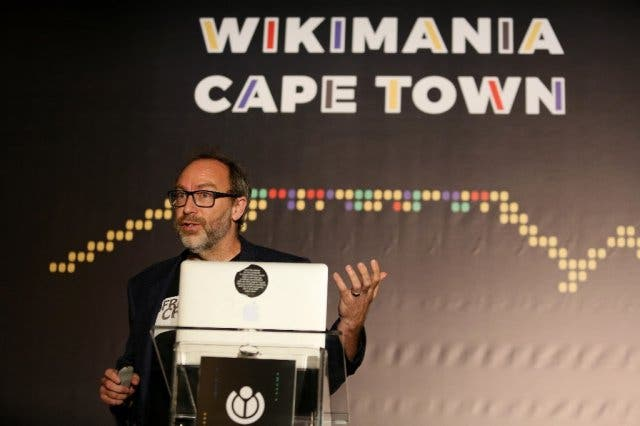 Jimmy Wales Cape Town