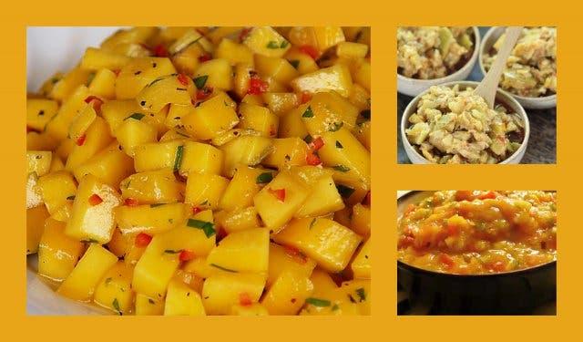 Südafrikanische Rezepte; Mango mit Chili