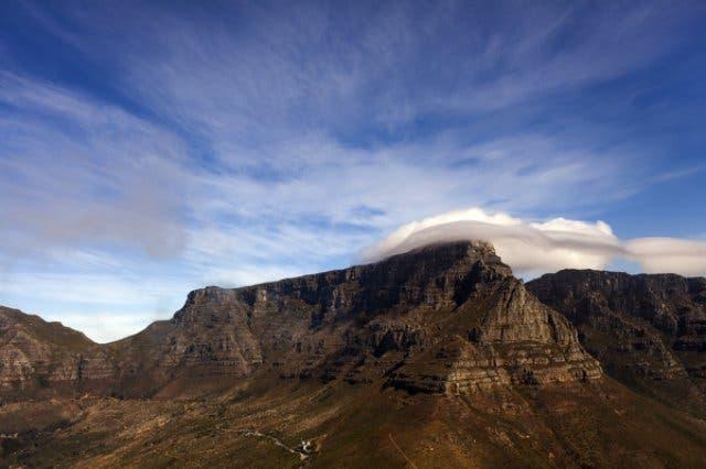 Der Tafelberg - dieses Ungetüm gilt es heute, zu bezwingen