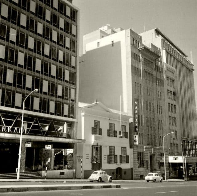 Kapstadt Strand Street 1970