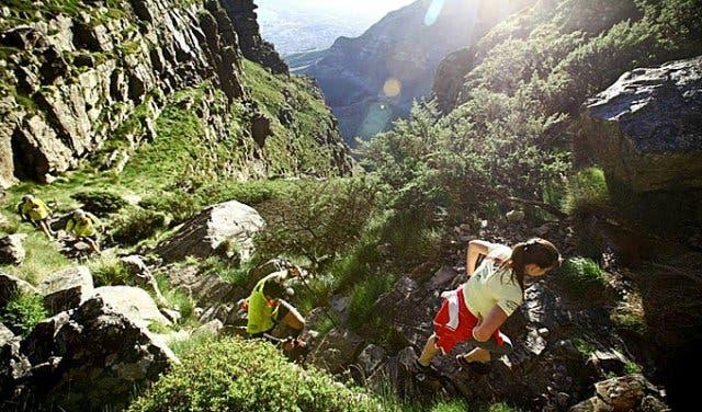 Platteklip Wanderung Kapstadt