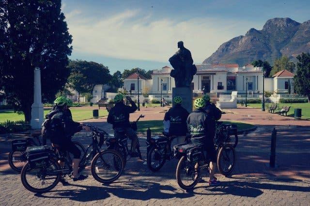 ByeCycle Elekto Bike Touren durch Kapstadt