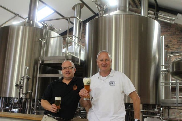 wolfgang Koedel andy küng cape brewing company