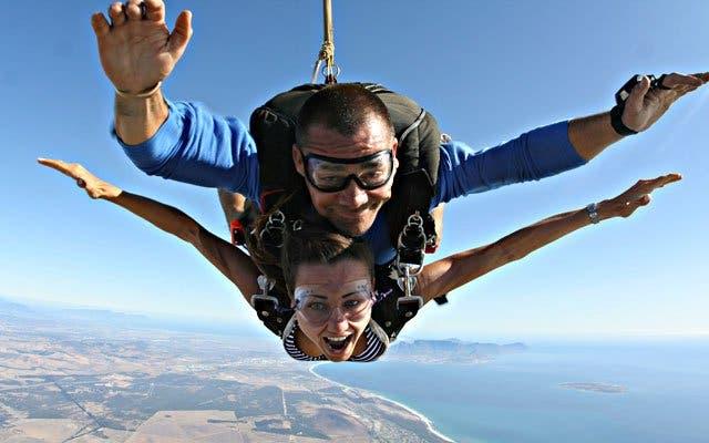 Skydiving Kapstadt