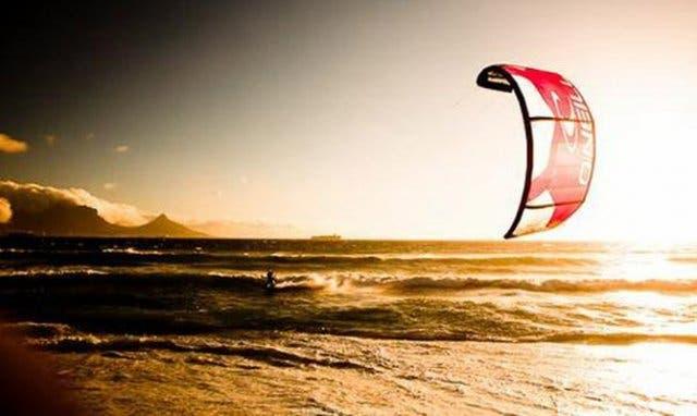 Kiten in Kapstadt