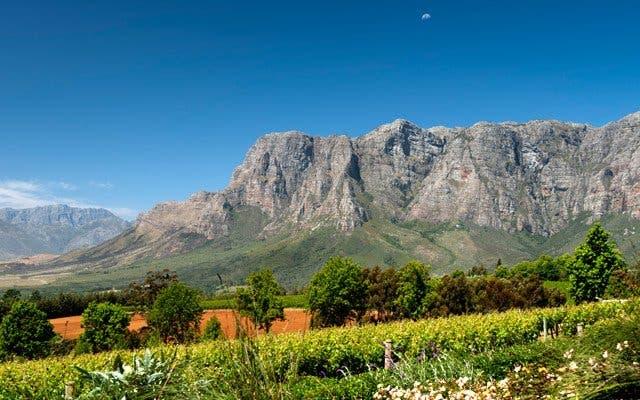 Mit dem Hubschrauber ins Weinland Kapstadt
