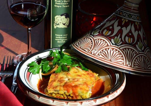 Aubergine Rezept marrokanischer Art