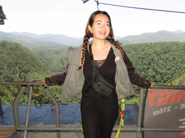 Lisa Bungee Jumping Plettenberg Bay