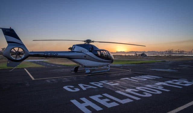 Cape Town Helicopters Flug 3