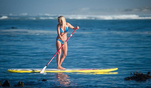 Stand Up Paddling High Five Kapstadt
