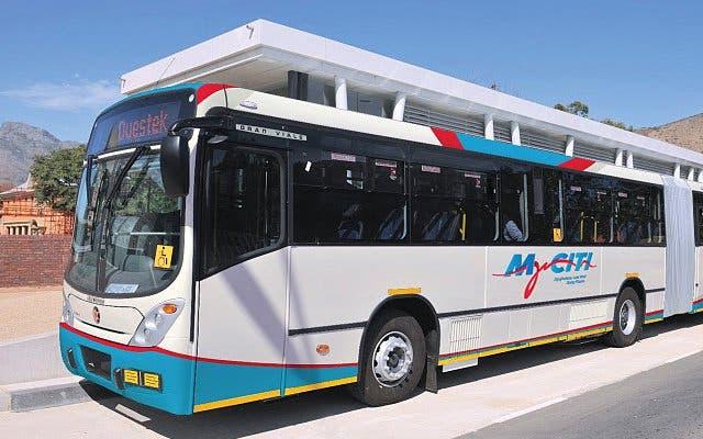 Bus fahren Kapstadt