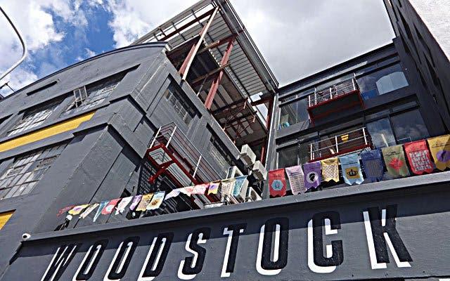 Woodstock superette Kapstadt