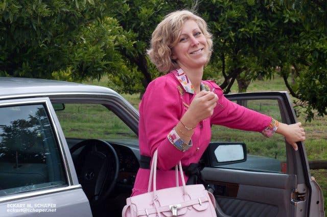 Andrea Schmidt Deutsche in Kapstadt