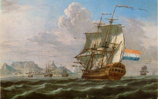 Seefahrer Jan van Riebeck landet in Kapstadt
