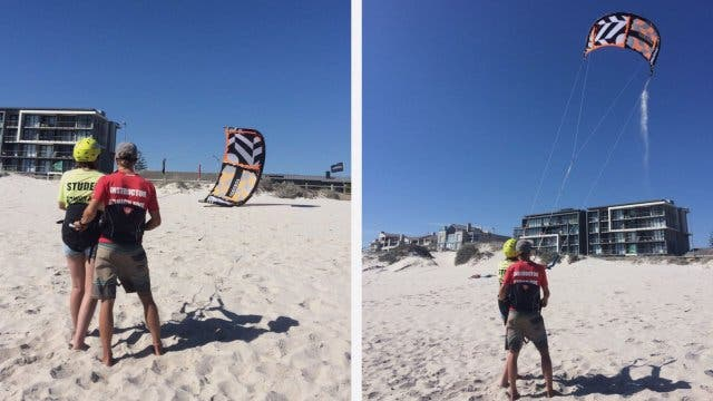 High Five Kite Instructor