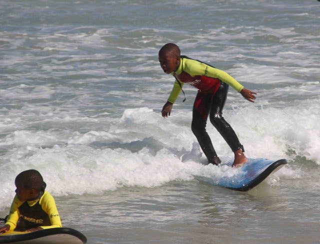 Surf in Muizenberg