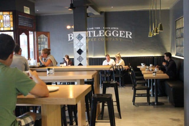 Bootlegger Kaffeehaus Kapstadt