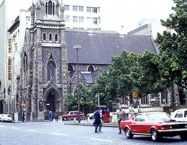 Green Market Square Kapstadt 1970