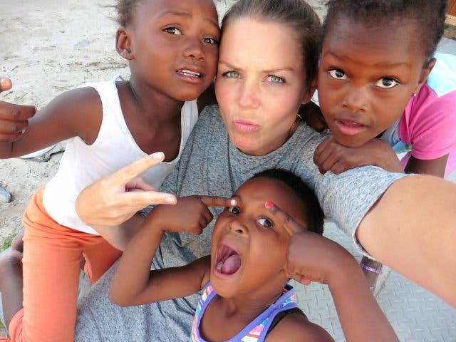 Kinder im Township