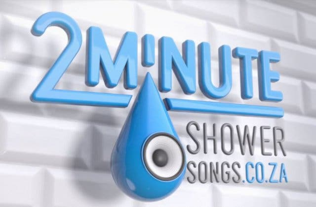 2 min Shower Songs Kapstadt