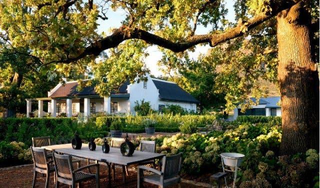 Weinfarm Boschendal Kapstadt