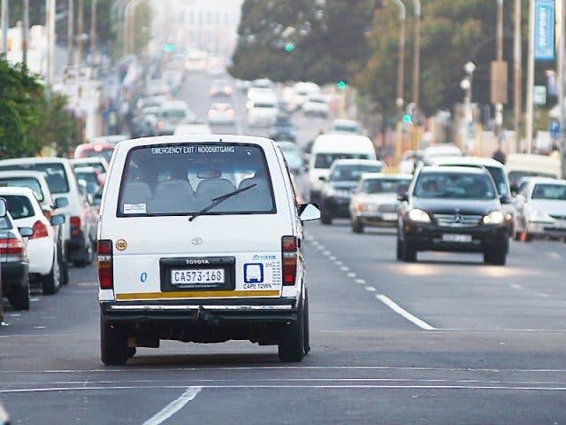 Minibusse Südafrika
