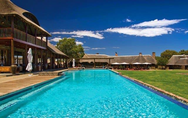 Swimming Pool Aquila Safari Park