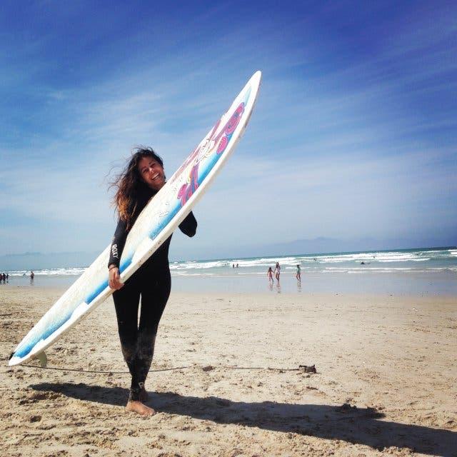 Surfing in Kapstadt