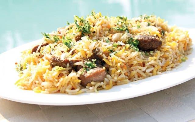 Reis Gerichte aus Kapstadt