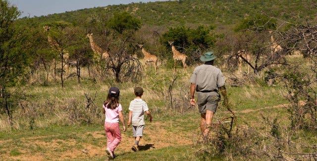 Mit Kindern in Kapstadt