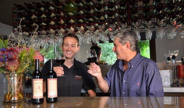 Wein Probe Kapstadt