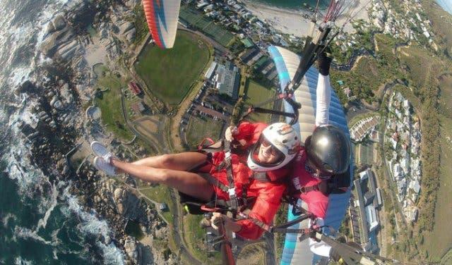 Gleitschirm fliegen in Kapstadt