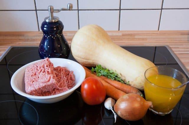 zutaten butternut squash