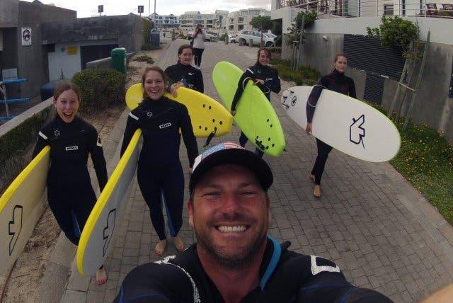 beachlife Surf school Big Bay Südafrika
