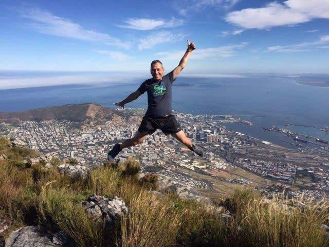 Michael Hauser geniesst seine Zeit in Kapstadt