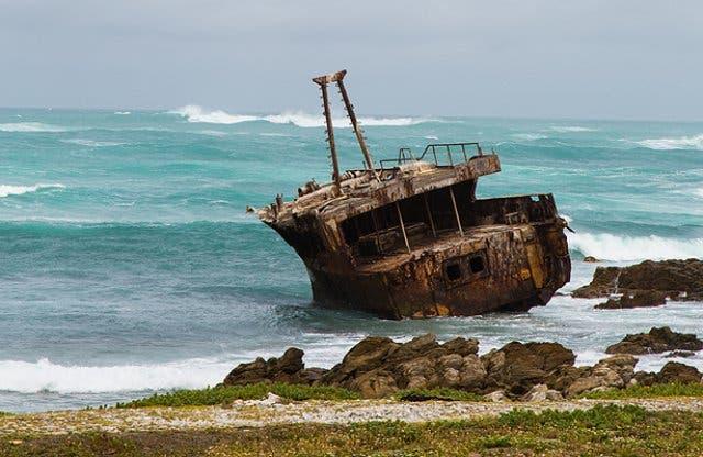 140 Schiffswracks am Südzipfel Afrikas