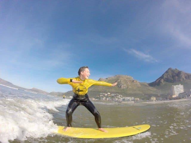 surfen lernen in Kapstadt mit Stoked