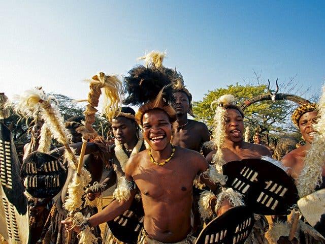 Zulu Südafrika