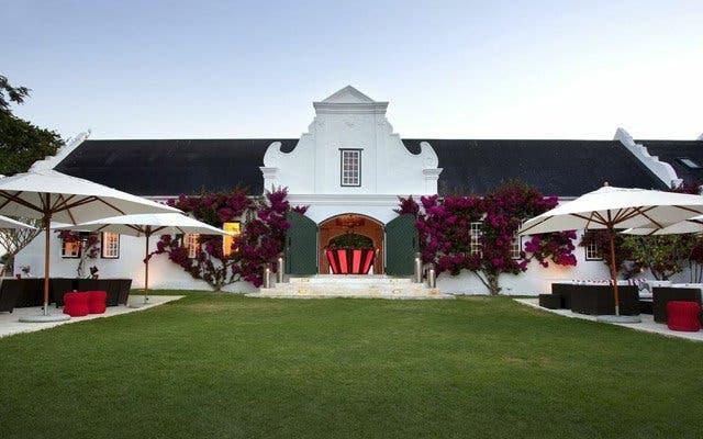 Schönes Weingut Peter Falke in Kapstadt