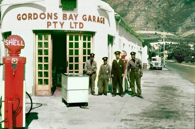 Gordons Bay, Kapstadt Südafrika, 1970